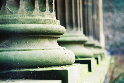 puncturedlung:  Pillars by Richard S J Gaston on Flickr.