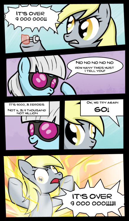 poniesrus:  And this is why they didn't use ponies for Dragon Ball Z.