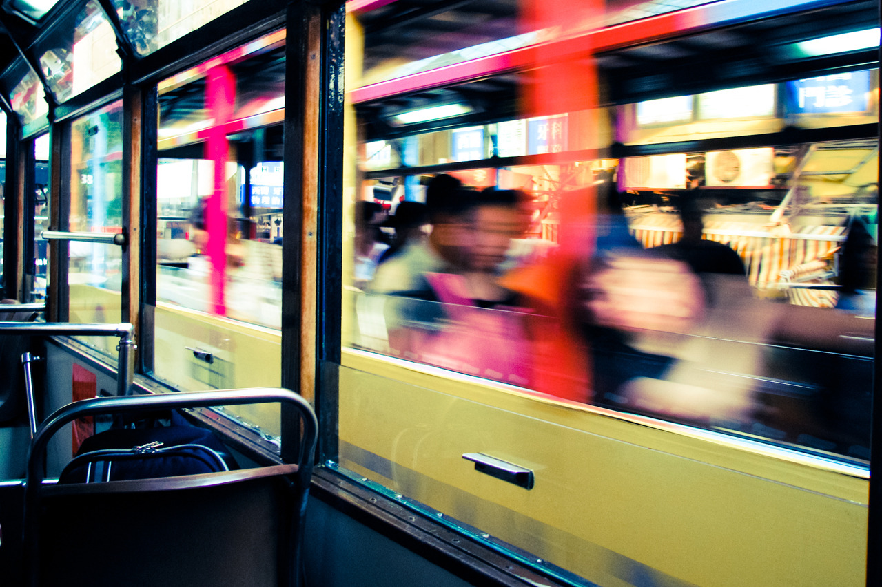 Passing Trams in Hong Kong on Flickr. I was looking through some ancient photos from when I was living in Hong Kong before I really got into photography. I quite like this… two trams passing each other in Wan Chai, Hong Kong. I was living in Wan Chai, studying MBA at the Chinese University of Hong Kong as part of my Master Business degree. Photo was taken with an old Canon Powershot camera. The predecessor to my first DSLR,