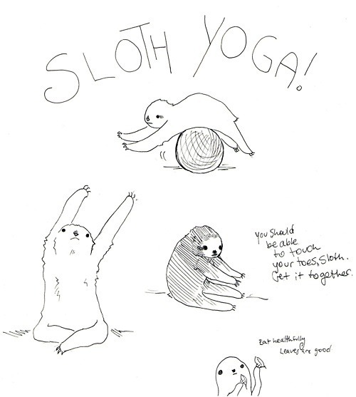 Lord I love sloths  fuckyeahpersonification:  Awesome submission, bucketOdoom!
