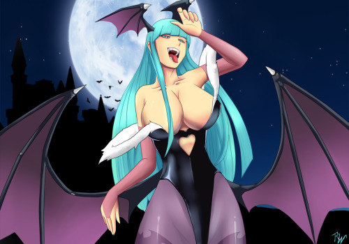 Morrigan // artwork by*rodrigo888 (2011)