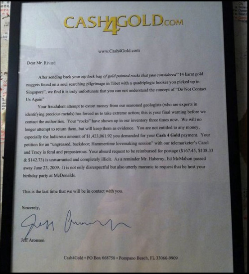 (via Cash4Gold cease and desist - Imgur)