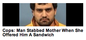 To be fair, it was a knuckle sandwich. But still…
