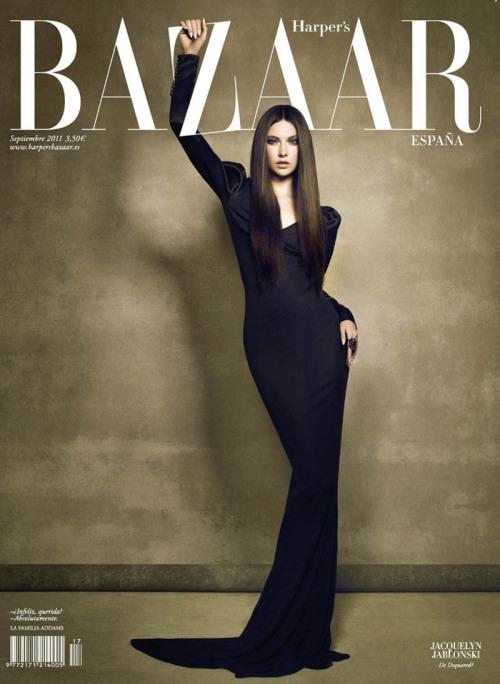 Harper's Bazaar España, September 2011, cover photographer: Nico Jacquelyn Jablonski in Dsquared2 Harper's Bazaar Spain September 2011 Cover (Harper's Bazaar Spain)