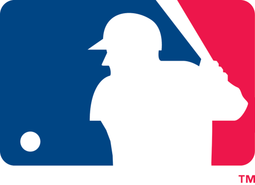flipflopflyball:  There is no reason, really, why the MLB logo should feature a baseball that is in the strike zone, but, I dunno… it kinda bugs me that the logo features a pitch that's a ball. So, I altered the logo a tiny bit. From the MLB web site: Rule 2.00: The Strike Zone The STRIKE ZONE is that area over home plate the upper limit of which is a horizontal line at the midpoint between the top of the shoulders and the top of the uniform pants, and the lower level is a line at the hollow beneath the kneecap. The Strike Zone shall be determined from the batter's stance as the batter is prepared to swing at a pitched ball.