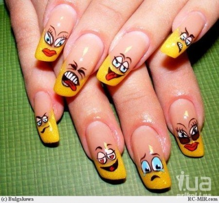 Cute Nails! (found here)