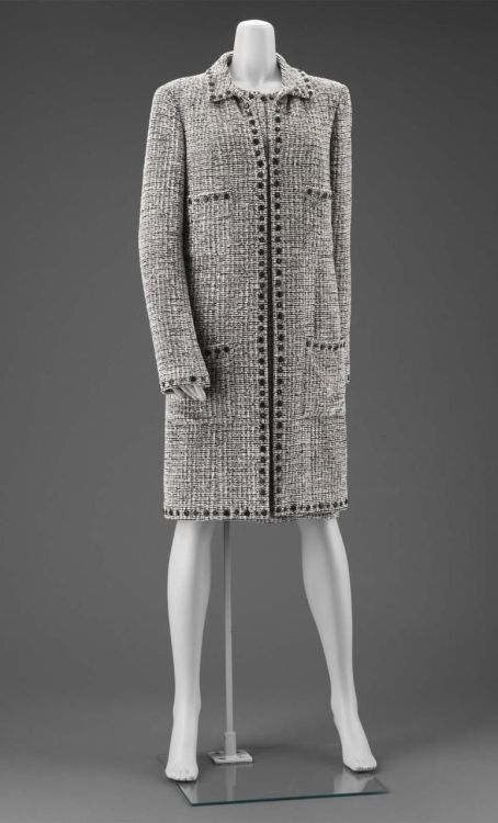 Karl Lagerfeld for Chanel ensemble ca. 1990-1995 via The Museum of Fine Arts, Boston
