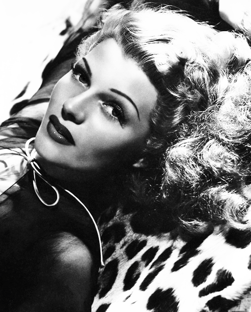 missavagardner:  Rita Hayworth photographed by George Hurrell, 1943.