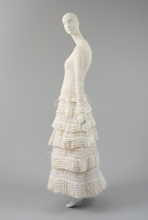 Karl Lagerfeld for Chanel dress ca. 2004 via The Costume Institute of the Metropolitan Museum of Art