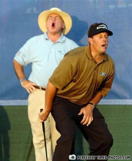 fuckyeahperfectlytimed:  and I thought there wasn't any scoring in Golf.