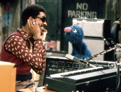 hicockalorum:  Stevie Wonder + Grover
