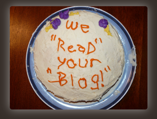 Blog themed cake decorating is TOO MUCH PRESSURE! Don't Do It Yourself.