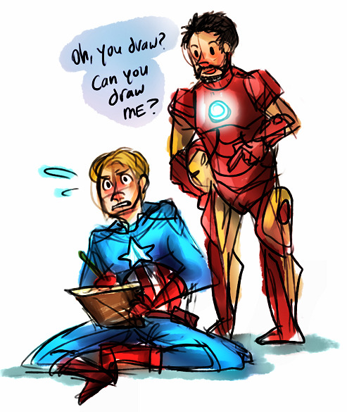 dilfosaur:  tony stark is that guy  God dammit Tony!!
