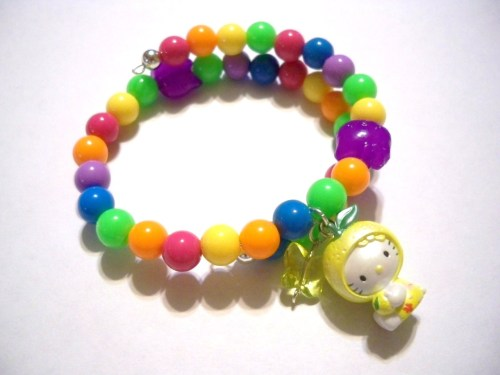 Hello Kitty Lemon Costume Bracelet