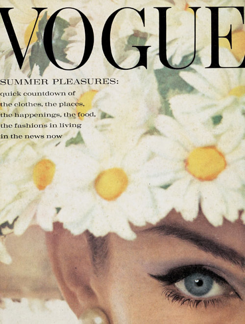 moddeningexperience:  Vogue June 1962 cover Jean Shrimpton