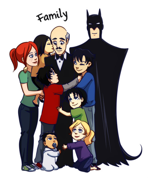 gabzilla-z:  Batman's Batman. Flawless character. Best Parent ever. I want an Alfred.