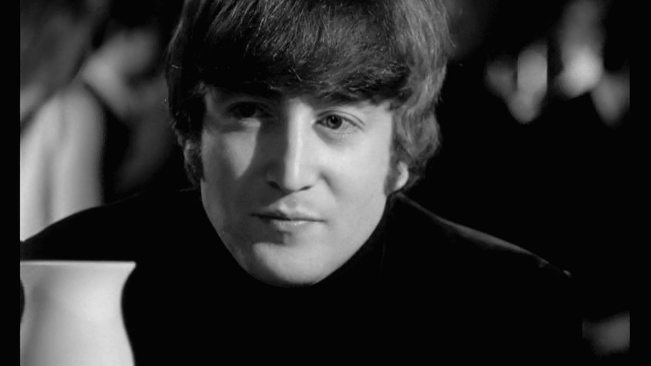 John Lennon forever… Melbie: I was 14 when I first saw John in A Hard Day's Night, and I feel in love with him dressed in black in this moment… ;-)