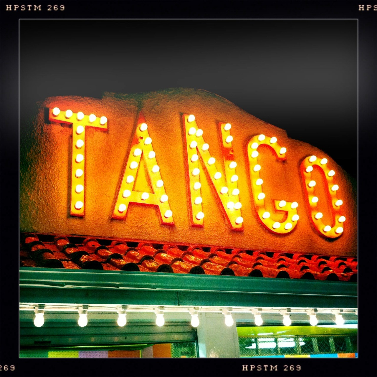 Tango! Probably what originally went on in this now-arcade, too.