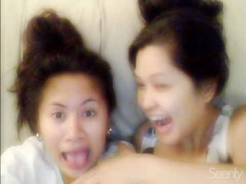 haha,getting crazy with mommy :)