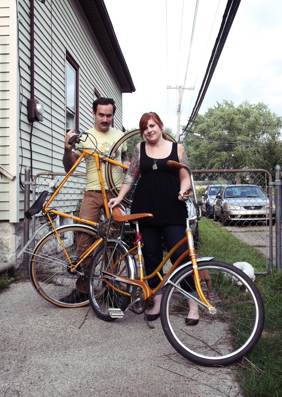 Montréal Cycle chic  extra-muros: Motor City, Michigan  #1 Shawn & Veronica Knight