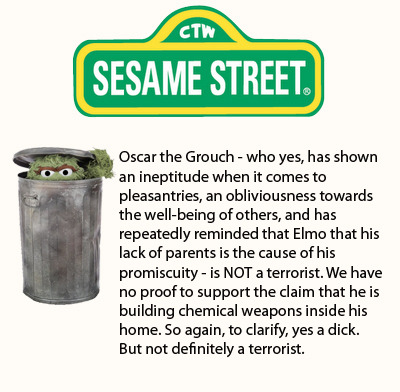 4 Other Statements Sesame Street Has Been Forced to Release In the wake of the statement Sesame Street was forced to release amid speculation of Bert and Ernie's sexuality, the show decided to clear the air regarding some of its other beloved characters.