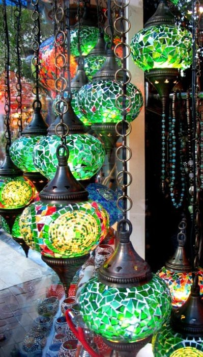 My Bohemian Aesthetic  Hanging lanterns in the Grand Bazaar, Istanbul