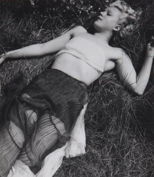 In the grass, c.1938 by Emeric Feher *