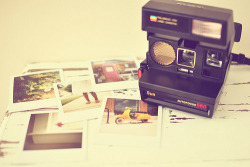 i want a polaroid camera.