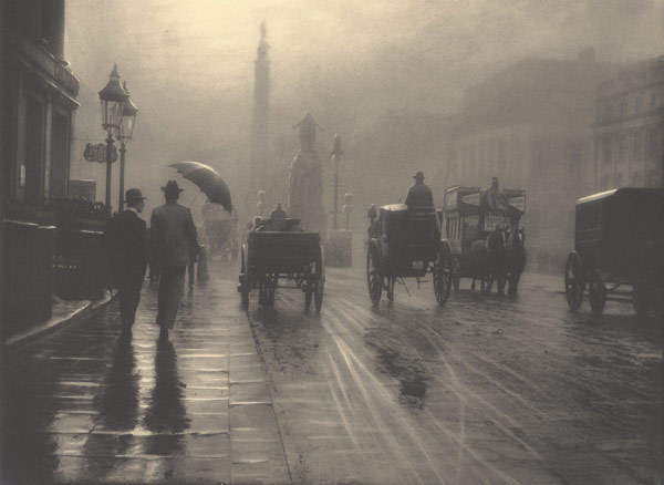 turnofthecentury:  London, 1899 by  Léonard Misonne  via Fotopolis