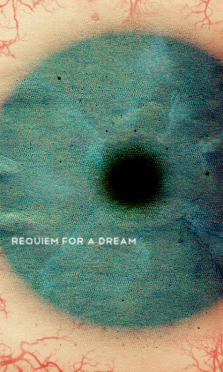 minimalmovieposters:  Requiem For A Dream by Travis English