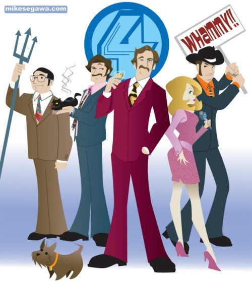 xombiedirge:  Anchorman by Mike Segawa