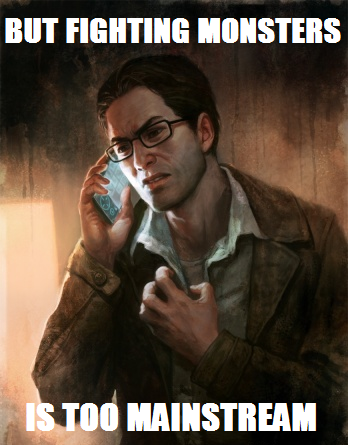 silenthillmeme:   Hipster Harry.  submitted by easybakeaigis!  XD