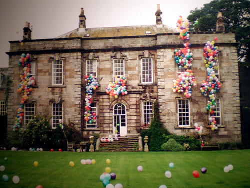 Balloon Castle by Tim Walker.
