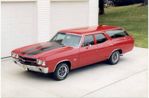 WAGON WEDNESDAY tiemposdeyuca:  1970 Chevy Chevelle SS Wagon