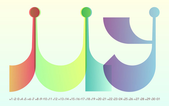 fustin:  jasonwbrown:  Showcase of Creatively Designed Calendars  Reblogged on TumTum ♻
