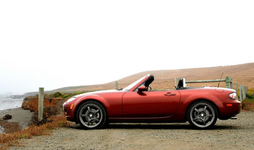 NC Miata and the Big Sur coast by Brilliant Michael on Flickr.#miataMonday