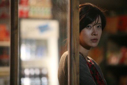 You-Sun as the mysterious Lee Young-Ji in Kang Woo-Suk's Moss.