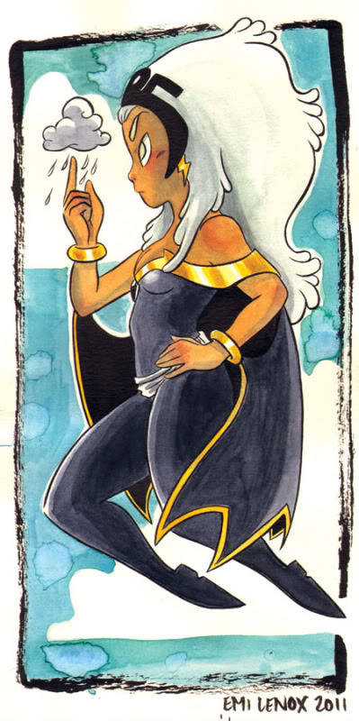 a cute little Ororo by Emi