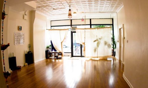 rachelfairbanks:  This is the yoga studio I go to. Isn't is pretty? I can't wait to get back into the habit. I've let my life-craziness get way out of control.