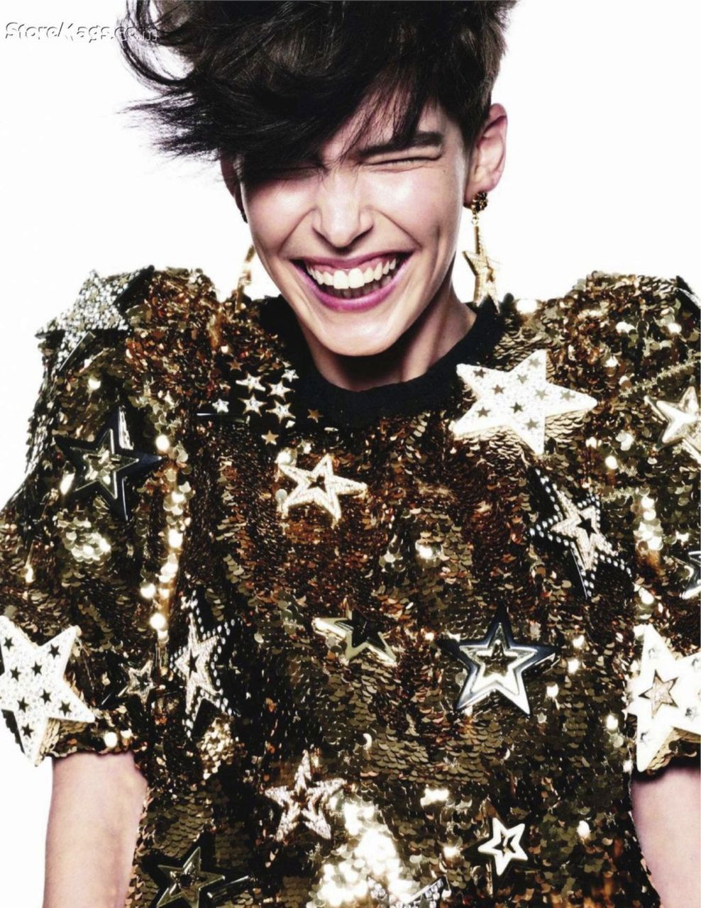 "evebl:  ""Funny Face"" by David Sims for Vogue Paris"