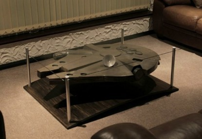 Wishlist #187 Millenium Falcon table.