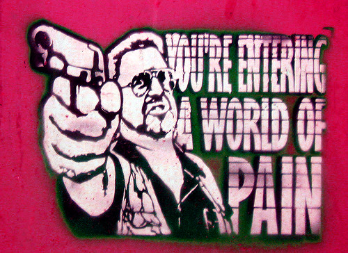 Y is for You're Entering a World of Pain!Walter Sobchak's Ethics