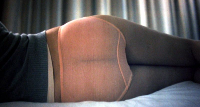 "scarlett's arse at the beginning of ""lost in translation'"