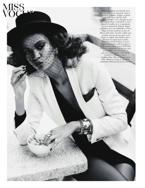 cocovonwu:  Joan Smalls for Vogue Paris September 2011, by Josh Olins