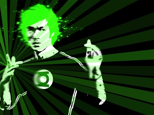 What if Bruce Lee was Green Lantern…?