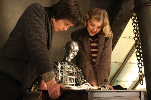 First Look: Chloë Moretz and Asa Butterfield in Martin Scorsese's Hugo | Movieline