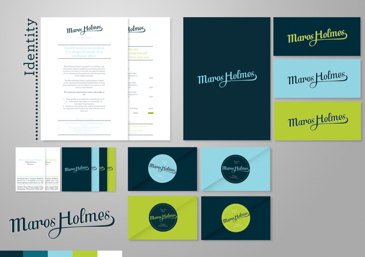 designersof:  Maros Holmes Creative Branding and Identity. http://www.niceonwhite.com/2011/08/08/the-all-new-maros-holmes/
