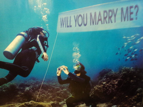 lonelybuoy:  i think i wanna propose like this someday