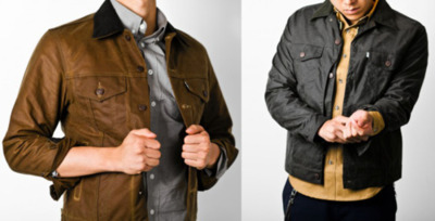 "Filson X Levi's 2011 Collection ""American denim brand Levi's has been experiencing a very happy resurgence of both relevance and popularity lately due to an appreciation for their old-school aesthetics abroad as well as a longing for heritage products in the USA. Latest from the jean shop comes a collaboration with another stateside brand born out of the gold rush of the late 1800s: Filson. From the unexpected use of mustard on a Western-styled shirt to deep-cut denim vests, an over-dyed black trucker jacket and waxed cotton hunting coat, the collection embodies a nontraditional take on standard outdoorsy fare. It's nice to see Levi's teaming up with a fellow workwear brand for once instead of emphasizing the high fashion route."""