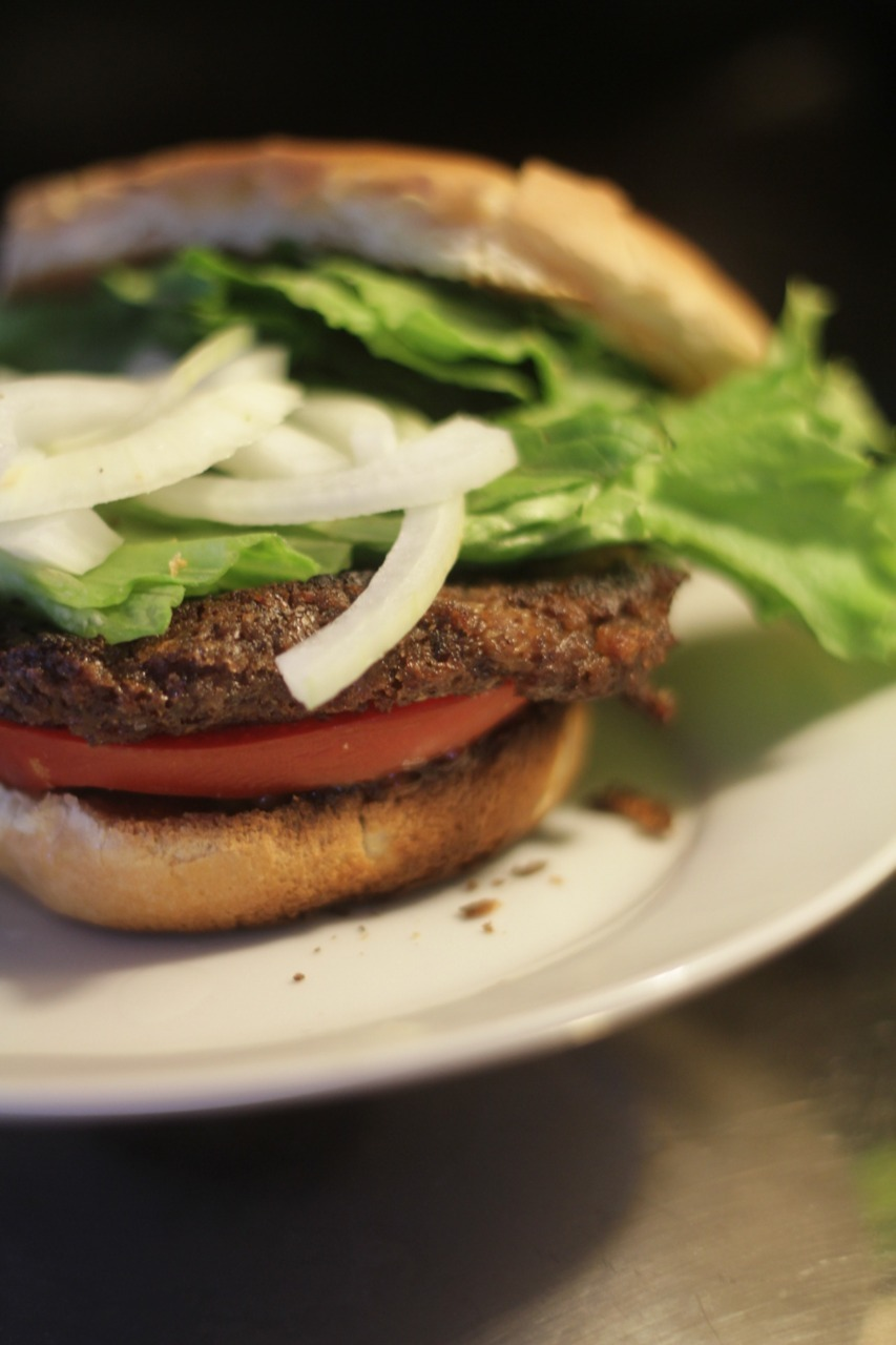 Black bean burgers. Bliss.